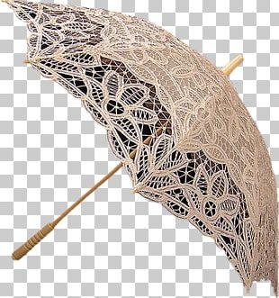 Lace Umbrella Auringonvarjo Textile Arts Thread PNG