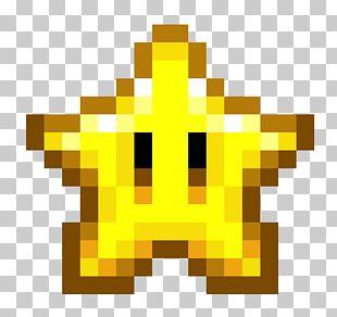 Minecraft Super Mario Bros. Pixel Art PNG