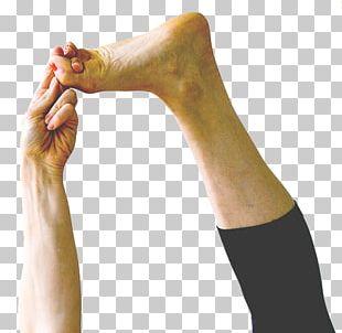 Meadowlark Yoga Finger Calf Shoulder PNG