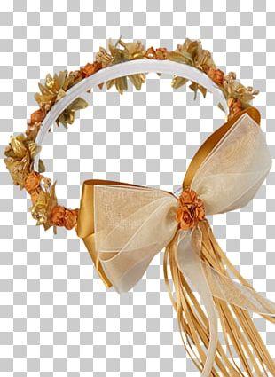 Jewellery Silk Crown Gold Wreath PNG