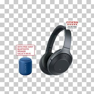 Noise-cancelling Headphones Sony 1000XM2 Active Noise Control PNG