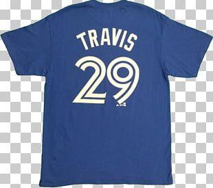 T-shirt Toronto Blue Jays Majestic Athletic MLB Jersey PNG