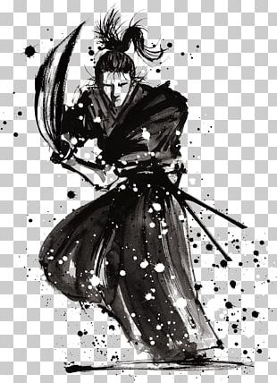 LIVE HOUSE MODS Samurai Aikido Martial Arts Drawing PNG