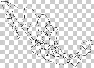 Mexico–United States Border Blank Map Baja California PNG