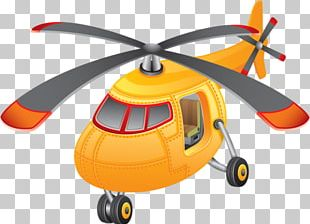 Helicopter Airplane Aircraft Cartoon PNG