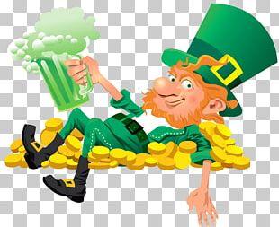 Ireland Leprechaun Saint Patrick's Day PNG