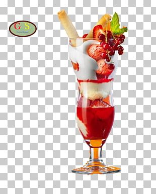 Cocktail Glass Hawaii Ice Cream Martini PNG