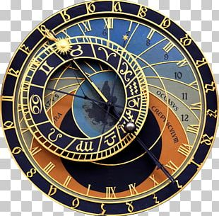 Prague Astronomical Clock Old Town Hall Old Town Square PNG
