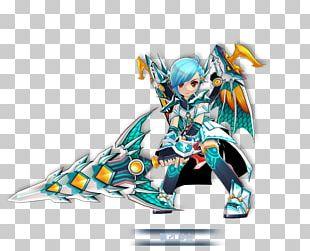 Beanfun! Character Elsword Model Figure Action & Toy Figures PNG