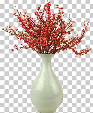 Vase Plants Flower Floral Design PNG