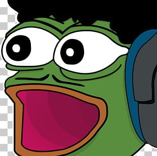 Twitch Pepe The Frog Emote T-shirt Streaming Media PNG, Clipart
