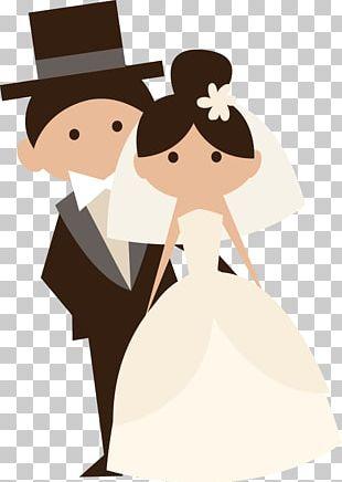 Wedding Invitation Bridegroom Cartoon PNG