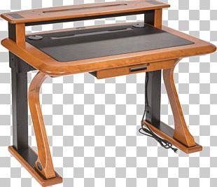 Shelf Table Desk Furniture Wood PNG