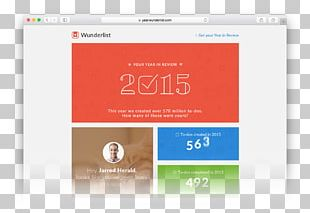 Wunderlist Productivity Google Startup Company Brand PNG