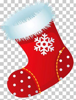 Christmas Stocking Santa Claus PNG