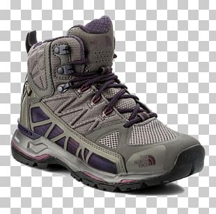 Gore-Tex The North Face Shoe Hiking Footwear PNG