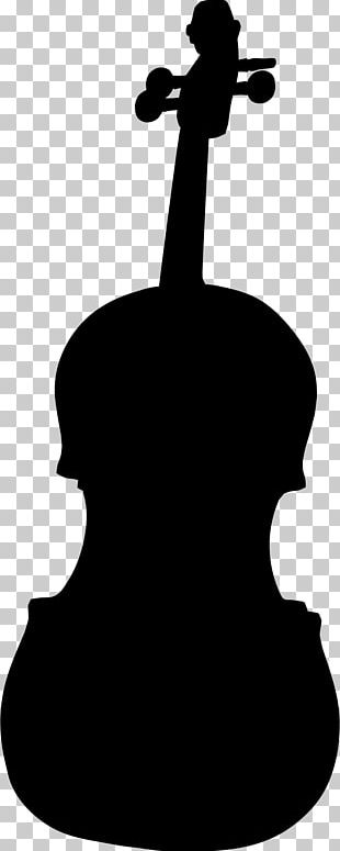 Violin Silhouette Bow Musical Instruments PNG