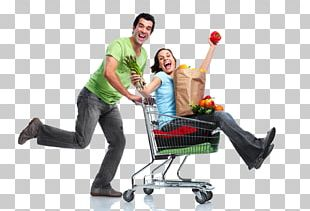 Shopping Cart Grocery Store Food Stock Photography PNG