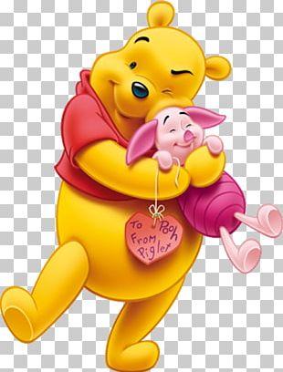Winnie The Pooh Piglet Eeyore Winnie-the-Pooh Valentine's Day PNG