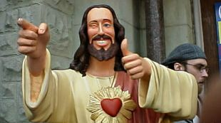 Jesus Christ The Redeemer Dogma Buddy Christ Statue PNG
