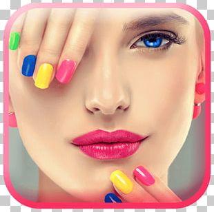 Cosmetics Beauty Parlour Eye Shadow Nail PNG
