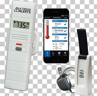 La Crosse Sensor Electronics Remote Controls Wireless PNG
