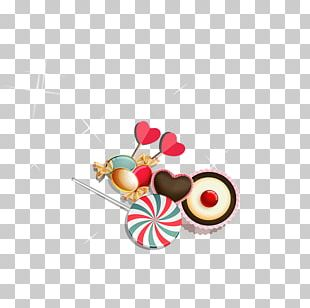 Lollipop Valentine's Day Candy PNG
