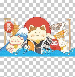 Maneki-neko Taobao PNG