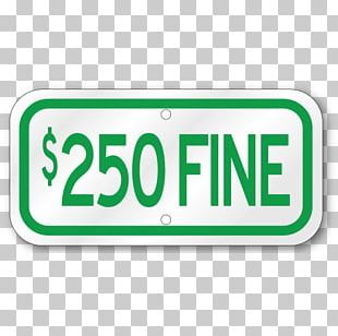 Stop Sign Vehicle License Plates Disabled Parking Permit Signage PNG