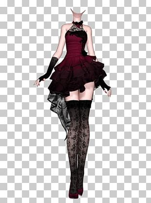 Dress Clothing Fashion Drawing Art PNG