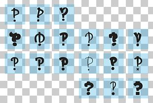 Interrobang Typography Graphic Design PNG