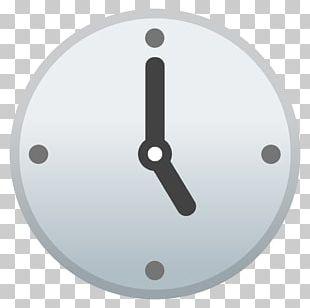 Clock Face Emojipedia Unicode PNG