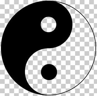 Yin And Yang Taijitu Symbol Dialectical Monism PNG
