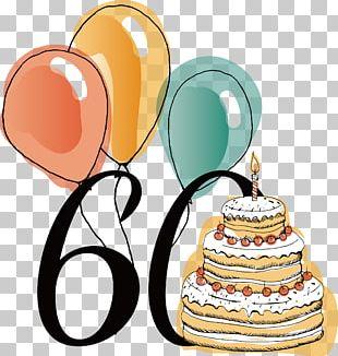 60th Anniversary Birthday PNG