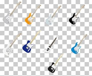 Guitar Musical Instrument Elements PNG