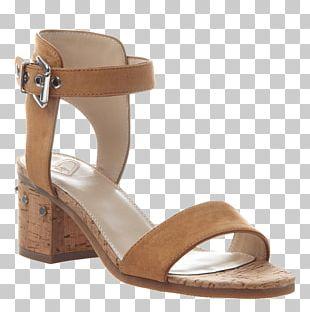 Sandal Shoe Heel Wedge Strap PNG