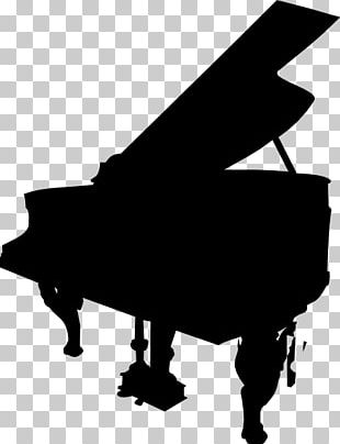 Piano Silhouette PNG