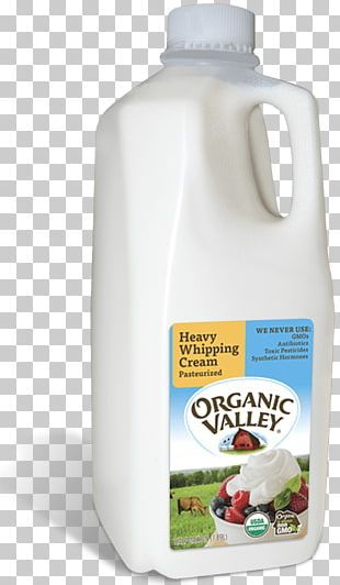 Organic Valley Skim Milk PNG