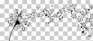Musical Note Choir Part Sheet Music PNG