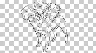 Dog Breed Drawing Line Art Sketch PNG