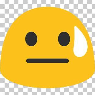 Emoji Perspiration Telegram Sticker Emoticon PNG