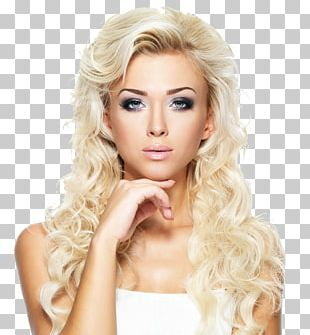 Hairstyle Artificial Hair Integrations Lace Wig Blond PNG