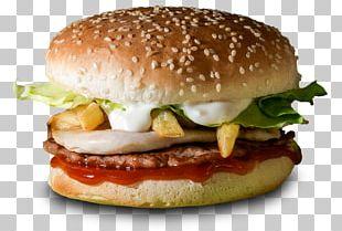 Hamburger Breakfast Sandwich Fast Food Veggie Burger Cheeseburger PNG