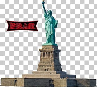 Statue Of Liberty Ellis Island Illustration PNG