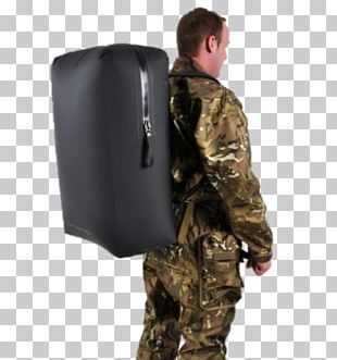 Military Uniform Dry Bag Backpack PNG