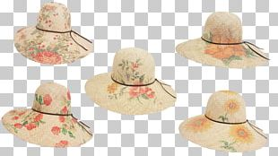 Sun Hat Straw Hat Fashion Accessory PNG
