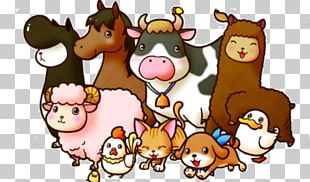 Cattle Look At! Farm Animals Livestock Portable Network Graphics PNG