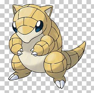 Pokémon Sun And Moon Pokémon X And Y Sandshrew Pokédex PNG