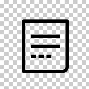 Plain Text Computer Icons Document Editing PNG