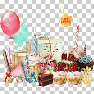 Birthday Cake Happy Birthday To You Bon Anniversaire Party PNG